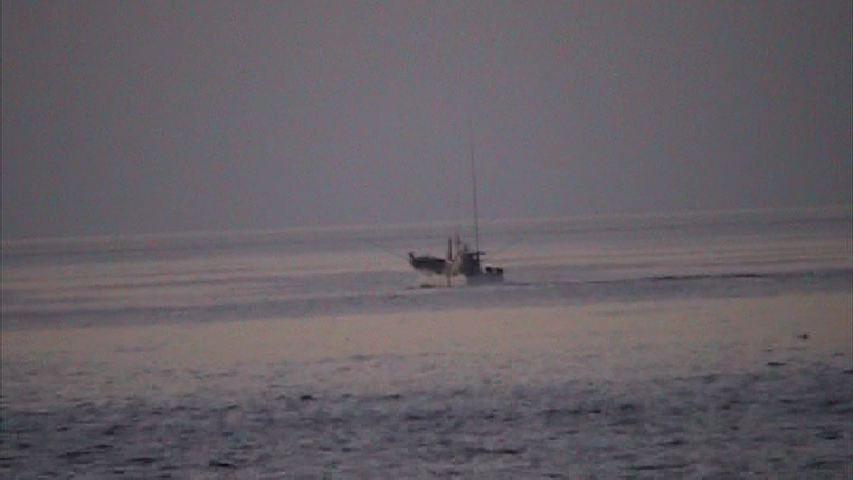 朝まだきの亀津海岸