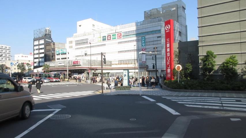 JR目黒駅周辺
