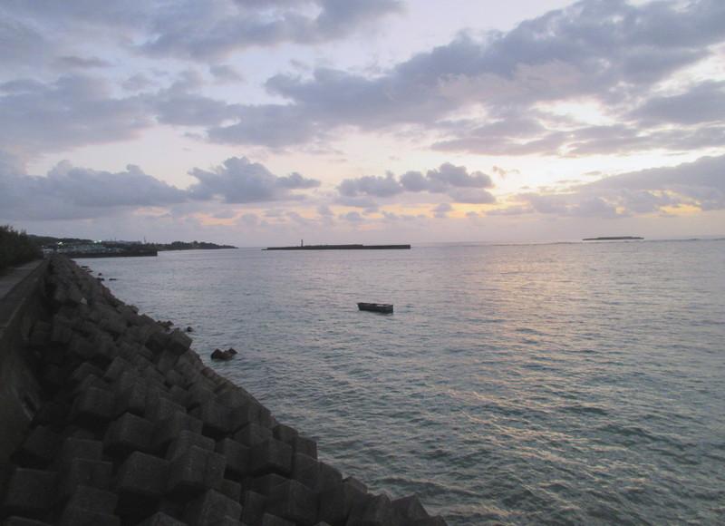 台風一過の早朝