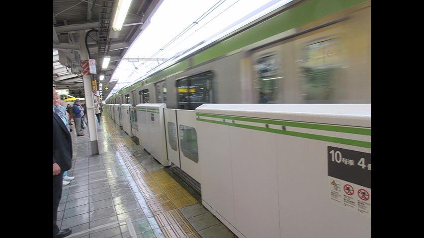 JR池袋駅山手線プラットホーム