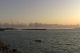 亀津東区海岸の朝焼け風景
