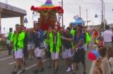 徳之島町 どんどん祭り(パレード)