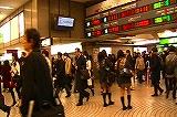 JR新宿駅西口改札前