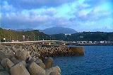 亀徳新港よりパノラマ撮影