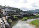 亀津中学校 風景画