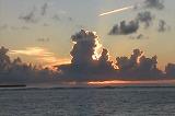 亀津海岸の朝焼け