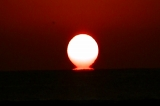 亀津海岸の日の出