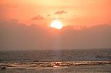 亀津海岸の素敵な日の出