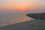 亀津海岸の夜明け