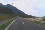 徳之島全島一周 No25 金見集落から直線道路