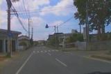 徳之島全島一周 No43 西阿木名集落(学校前通過)