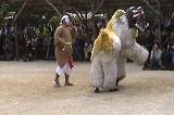 沖縄の獅子舞
