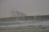 台風9号の余波