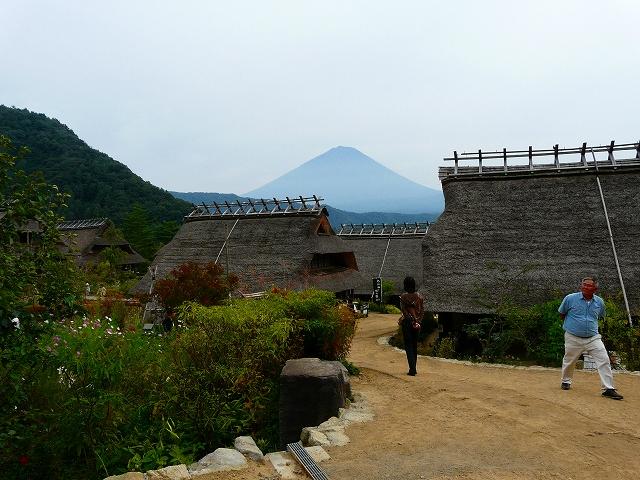根場(ねんば)で撮った富士山