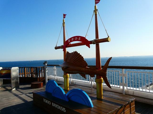 海ほたるから撮った東京湾3
