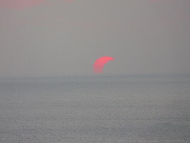 徳之島の部分日食 NO3