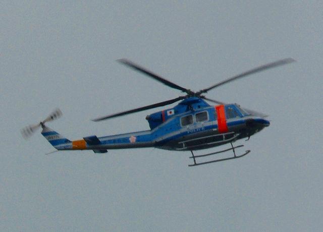 鹿児島県警 Bell 412EP型ヘリコプター「はやと」