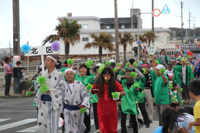どんどん祭り パレード(北区)