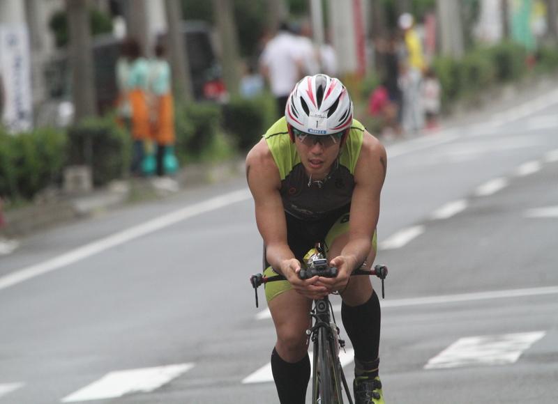 2014トライアスロンIN徳之島2位通過選手