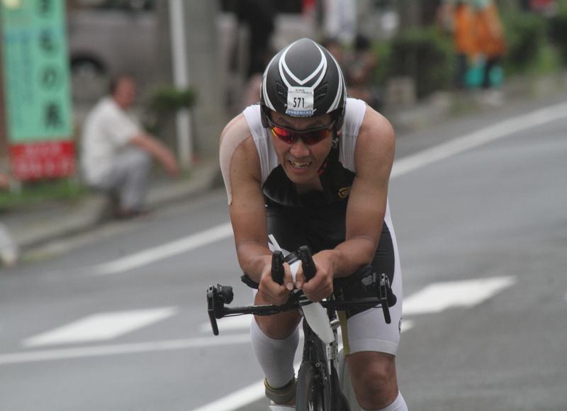 2014トライアスロンIN徳之島(写真)5位通過選手