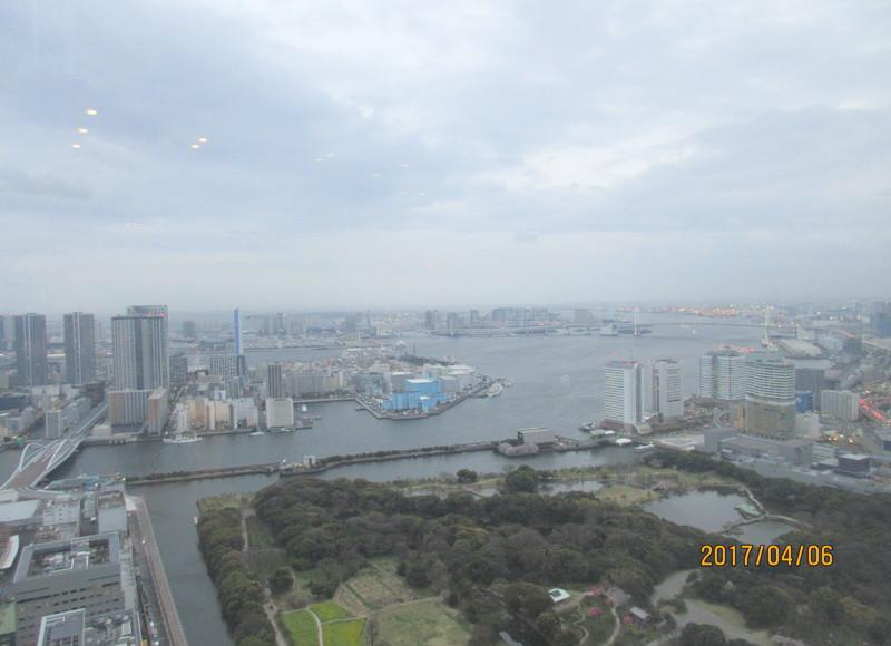 カレッタ汐留ビルから見た景色