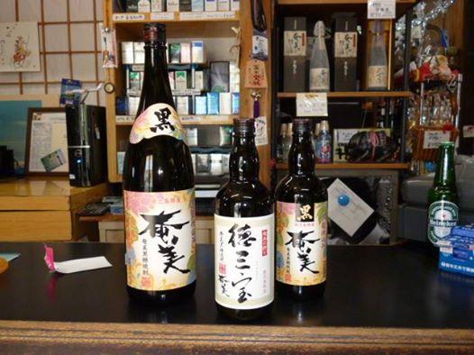 島の特産品「黒糖焼酎」黒奄美