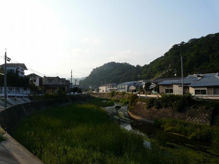 第3大瀬橋上流周辺の風景