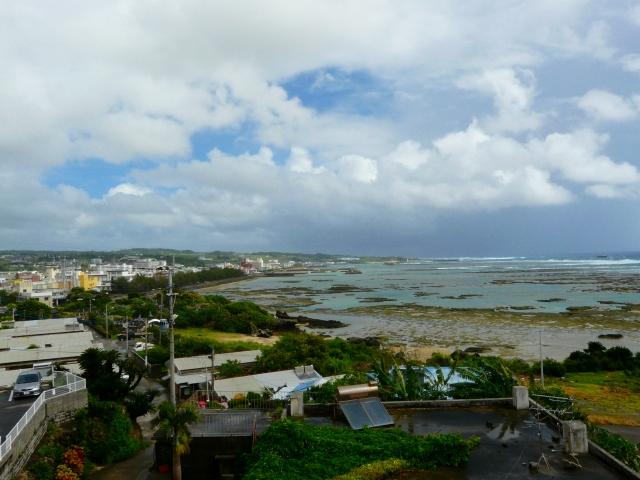 南区から望む亀津の風景