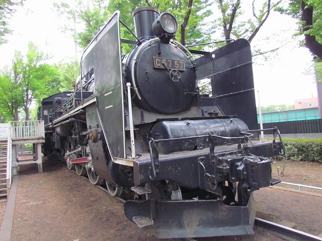 国鉄C57形蒸気機関車