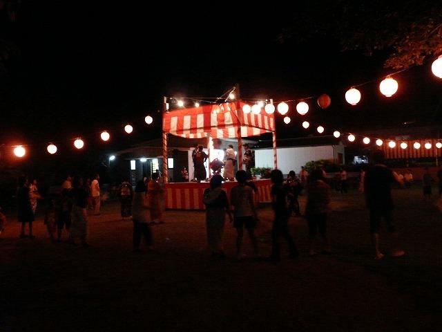 亀津東区の盆踊り