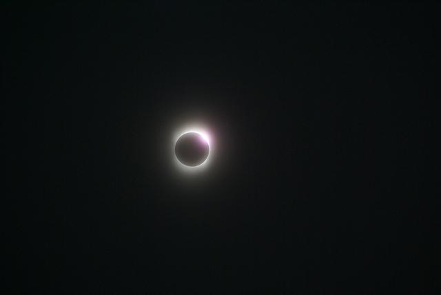 喜界島の皆既日食