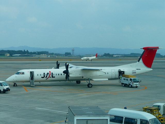 JACのプロペラ機DHC−Q400